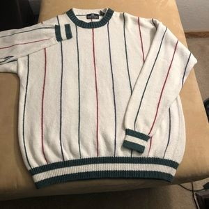 Structure vtg cable knit sweater